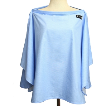 Harga Double Monkeys Poncho Breastfeeding Cover (front and back coverage) 100% Cotton