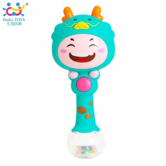 Harga Baby Plastic Dynamic Rhythm Stick Hand Rattles Kids Musical Party Favor Child Baby Shaker Sand Hammer Toy Musical Instrument Toy - intl