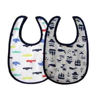 Harga 2PCS Carter's big Size Baby bibs with Button (6-36month)