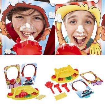 XTV Pie Face Showdown Game Family Party Fun Suspense Board Game Kids Best Toy Gift - intl