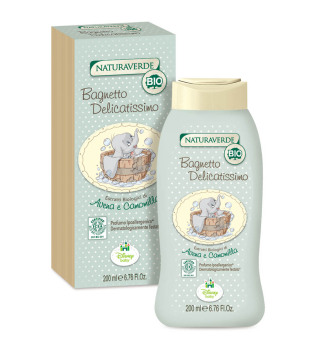 Harga Naturaverde Organic Delicate Bubble Bath - Dumbo 200ml