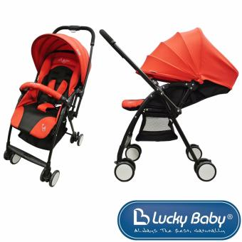 Harga Lucky Baby® 516218 Flash™ Baby Stroller - Red