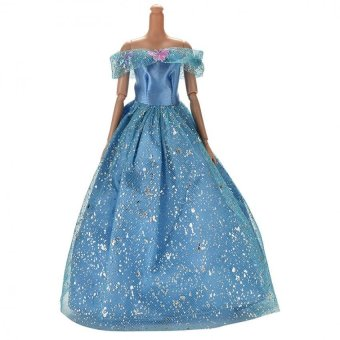 Harga Dress for Barbies Beautiful Dress with Butterfly Decoration Dress Barbies Toy - intl