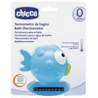 Harga Chicco Bath Thermometer Fish Light Blue