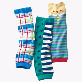 Harga 3-pack Baby & Toddler Cozy Soft Leg Warmers, Kneepads