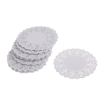 Harga MagiDeal 250pcs Crafts Round Paper Lace Doilies for Card Making & Scrapbooking - intl