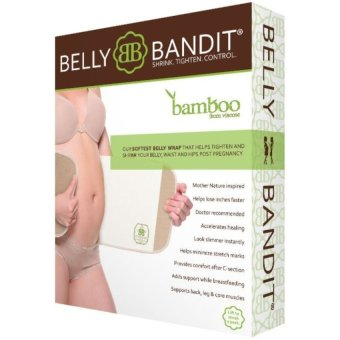 Harga Belly Bandit Bamboo Postpartum Belly Wrap - Natural (S) - intl