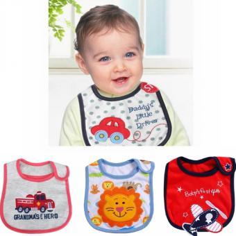 Harga 4 Pcs Baby & Toddler Clothing Accessories New Born Boys Bibs