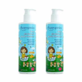 Harga Happyganics Baby All-Natural Bottle Cleanser 500ml