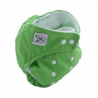 Harga PAlight Baby Adjustable Soft Nappy Cloth Diapers Covers (Green)