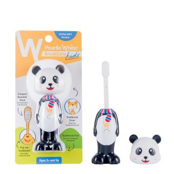 Harga Pearlie White BrushCare Kids Toothbrush - Panda