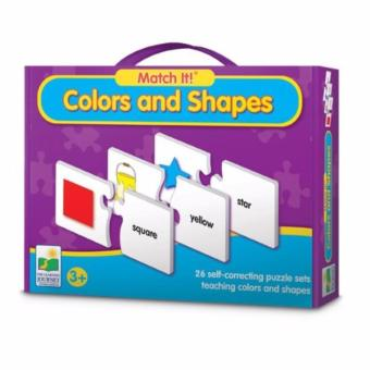 Educational Series - 30 Pieces Colours and Shapes Puzzle
