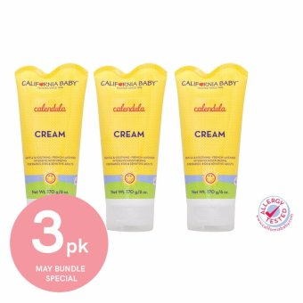 Harga California Baby Calendula Cream in Tube 6oz Triple Pack (Expiry Feb 2020)