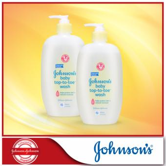 Harga Johnson's Baby Top-To-Toe Wash 500ml x 2pcs