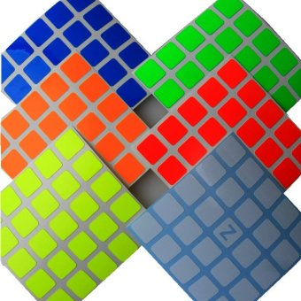 Harga Z-Stickers for Shengshou 5x5x5 magic cube (ZBW) (EXPORT)