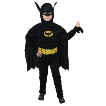 Harga Ciao Superhero Batman Costume Children Gif Cosplay Cloth - L