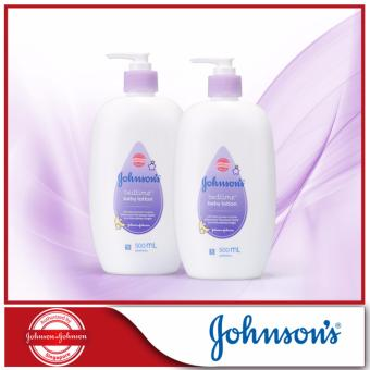 Harga Johnson's Baby Bedtime Lotion 500ml x 2pcs