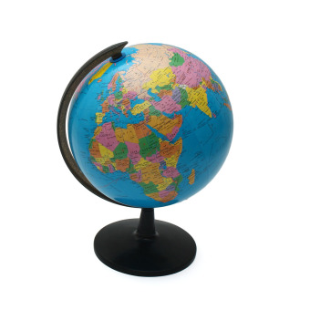 Harga 32cm Rotating World Earth Globe Atlas Map Geography Education Toy Desktop Decor - intl