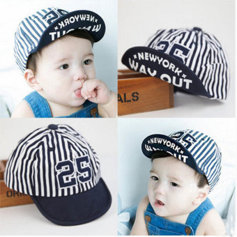 Harga Haotom Summer Style Baby Hat infant Caps Letter Children Baseball Caps Boys & Girls Peaked Hats Sun Hats (3-24months)