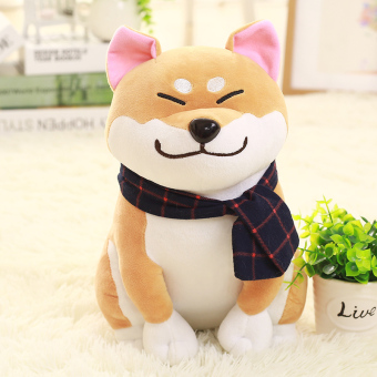 Harga Cute Shiba inu doll Akita dog plush toy doll dog doll pillow children's girls birthday gift