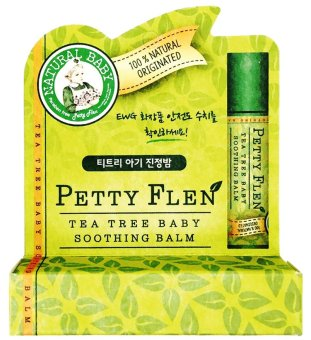 Harga [Petty Flen] [Natural Organic Baby Skincare] [Korea] Tea Tree Baby Soothing Balm (Pack of 3) for sensitive, itch, mosquitoes bite
