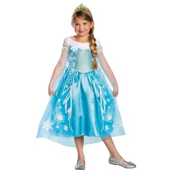 Harga Disney Frozen Elsa (Toddler 3-4 - Children 95-110cm tall)