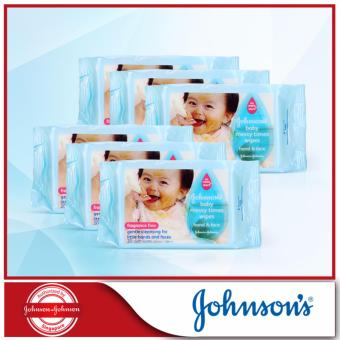 Harga Johnson's Baby Messy Time Wipes 20sheets x 6pcs