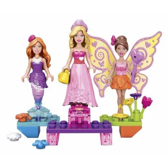 Harga Mega Bloks Barbie Princess Ball Barbie Building Kit