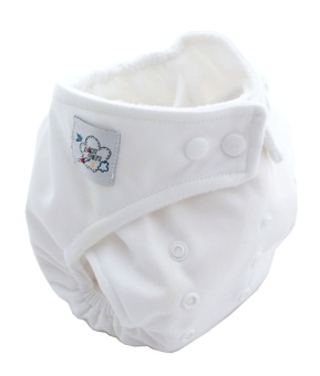 Harga PAlight Baby Adjustable Soft Nappy Cloth Diapers Covers (White)