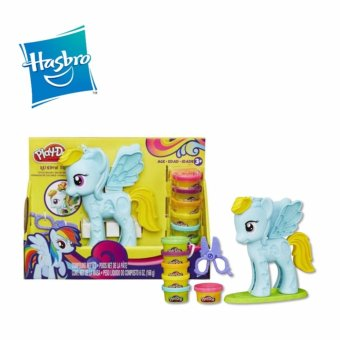 Harga Hasbro Play-Doh Rainnow Dash Style Salon Featuring My Little Pony - B0011