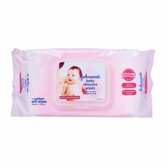 Harga Johnson's Baby Wipes Ultra Sensitive Case