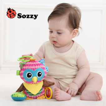Harga Sozzy multifunctional baby newborn plush doll appease even hold baby toys car hanging bed hanging years