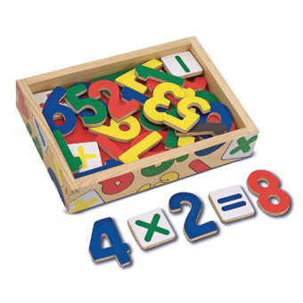 Harga Melissa and Doug Magnetic Wooden Numbers