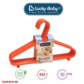 Harga Lucky Baby Infant & Toddler Hangers (10pcs)