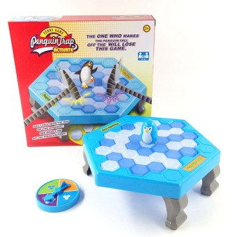 Harga Interactive Intelligent Ice Breaking Save the Penguin on Ice Table Game Toy