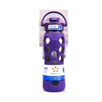 Harga Lifefactory 22oz Flip Cap Royal Purple 1s