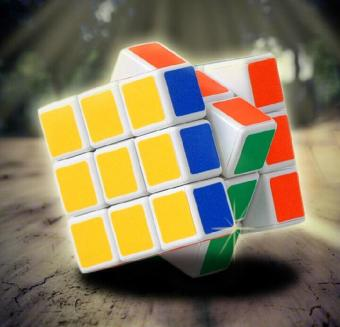Magic Cube Game the puzzle Ultra-Smooth Twist Rubic's Rubiks Rubixtoy - intl