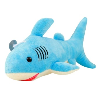 Oscar Store Shark Simulation Plush Soft Toy Stuffed Marine Organism Gift For Kids Lovely - intl