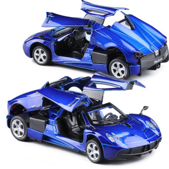 Pagani door sports car toy alloy car models