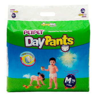 Harga Petpet DayPants Mega Pack M76 x 3 Packs
