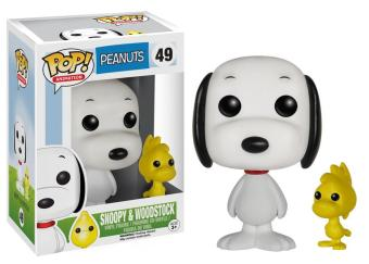 POP! Peanuts: #49 Snoopy and Woodstock