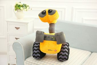 Harga Robot story wall. E Wali doll plush toys dig soil machine carchildren's birthday gift