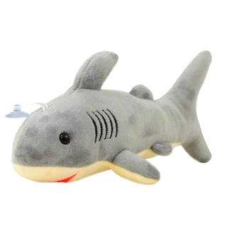 Shark Simulation Plush Soft Toy Stuffed Animal Marine Organism Gift Lovely Cute - intl