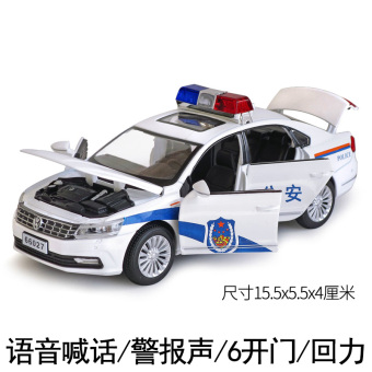 Hummer off-road model car alloy toy car police car
