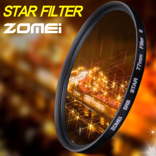 Zomei Star Line Star Filter 4 6 8 Piont Filtro Camera Filters 52 55 58 62 67 72 77 82mm For Canon Nikon Sony DSLR Camera thumbnail