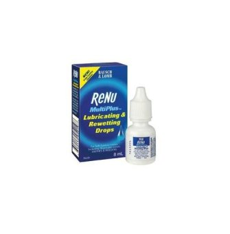 Bausch & Lomb Multiplus(TM) Lubricating & Rewetting Drops (8ml)