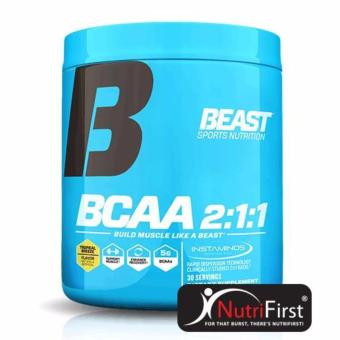 Beast BCAA 2:1:1 Powder (255g) 30 Servings Tropical breeze