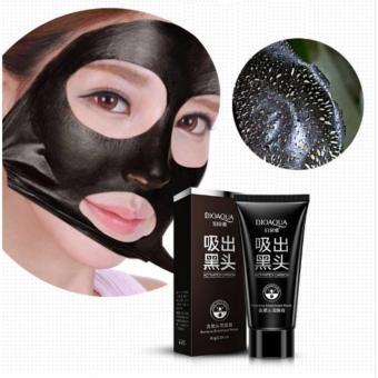 Bioaqua Blackhead Remover Black Face Peel Mask Activated Carbon Deep Cleansing Nose Acne Black Mud Face