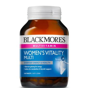 Blackmores Women's Vitality Multi 100 Tablets