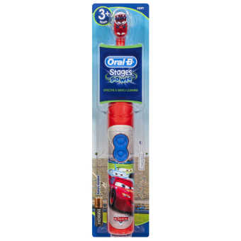 BRAUN Oral-B Disney Stages Power Electric Toothbrush For Kids,Model: DISNEY CAR
